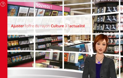 E-learning modules for skilled trades in Carrefour Market