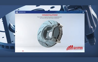 E-learning modules for Chassis Brakes International