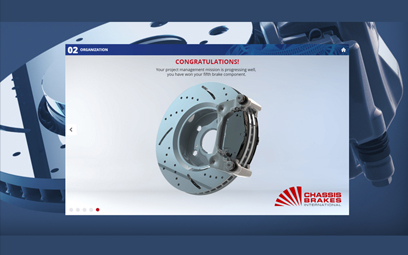 Modules e-learning pour Chassis Brakes International