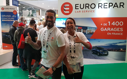 Euro Repar Car Service and the mondial Paris Motor Show
