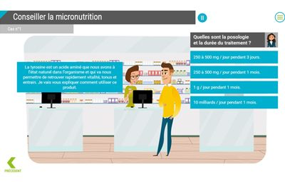 Formation e-learning sur la micronutrition