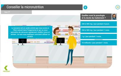 Formation e-learning sur la micronutrition