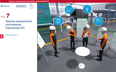 Module e-learning pour Vallourec