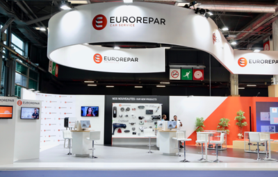 Takoma designed marketing material for EUROREPAR Car Service at Equip Auto