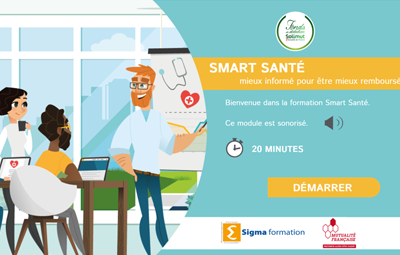 A Digital Learning training course to inform about the health rights established in France