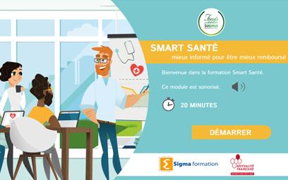 Un module Digital Learning pour sensibiliser sur les dispositifs liés à la santé en France