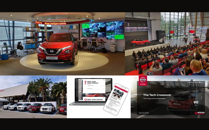 Design of training solutions for the new Nissan Juke