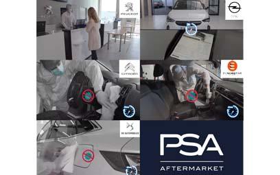 Tournage de vidéos sur la décontamination des véhicules pour PSA AFTERMARKET