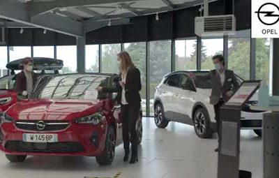 Tournage d'une seconde vidéo pour Opel France