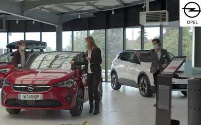 Opel France : a video to introduce the safety measures for the sales process