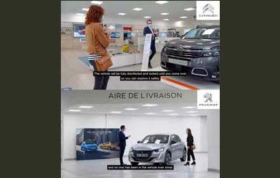 Conception et tournage de 2 vidéos pour Peugeot et Citroën