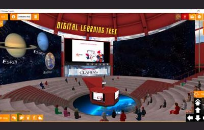 Takoma participe au Digital Learning Trek de Clarins