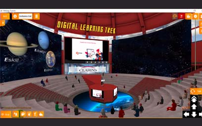 Takoma participe au Digital Learning Trek de Clarins