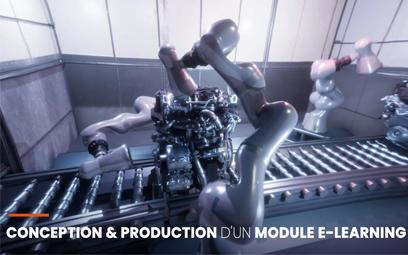 Un module E-Learning 3D et son adaptation en VR pour Renault Manufacturing