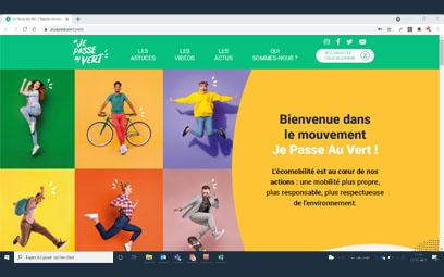 Un nouveau site web pour Je Passe Au Vert !